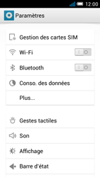 Alcatel One Touch Idol Mini - WiFi - Configuration du WiFi - Étape 6