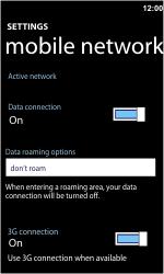 Nokia Lumia 710 - Internet - Manual configuration - Step 6