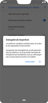 Nokia 7.1 - Android Pie - internet - mobiele data managen - stap 12
