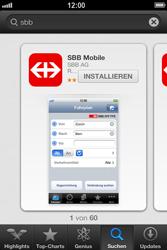 Apple iPhone 3GS - Apps - Installieren von Apps - Schritt 10