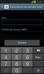 Samsung S7390 Galaxy Trend Lite - E-mail - Configuration manuelle - Étape 11