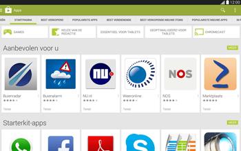 Samsung Galaxy Tab4 10.1 4G (SM-T535) - Applicaties - Downloaden - Stap 5