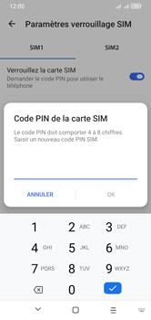 Alcatel 1S (2020) - Sécuriser votre mobile - Personnaliser le code PIN de votre carte SIM - Étape 10