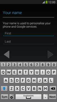 Samsung Galaxy Note III LTE - Applications - Setting up the application store - Step 5