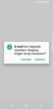 Samsung Galaxy S8 - E-mail - Handmatig instellen - Stap 6