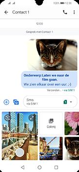 Huawei Y6 (2019) - MMS - afbeeldingen verzenden - Stap 19