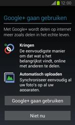 Samsung I9105P Galaxy S II Plus - apps - account instellen - stap 9