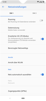 Nokia 7.2 - WiFi - WiFi Calling aktivieren - Schritt 9