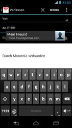 Motorola XT890 RAZR i - E-Mail - E-Mail versenden - Schritt 6