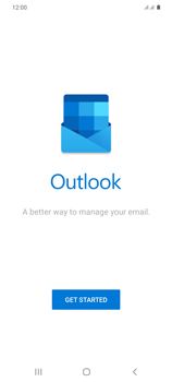 Samsung Galaxy S20 Plus 5G - E-mail - 032c. Email wizard - Outlook - Step 5