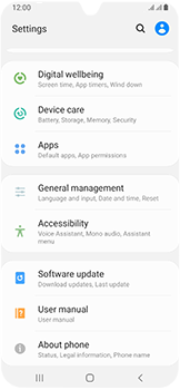 Samsung Galaxy A40 - Device - Factory reset - Step 5