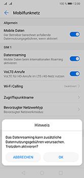 Huawei P20 Lite - Ausland - Im Ausland surfen – Datenroaming - 8 / 11