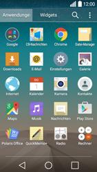 LG Leon 3G - Apps - Konto anlegen und einrichten - 3 / 20
