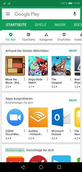 Huawei P20 - Apps - Einrichten des App Stores - Schritt 16