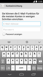 Huawei Ascend P6 LTE - E-Mail - Konto einrichten - Schritt 6