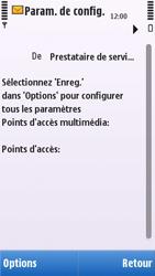 Nokia C5-03 - MMS - configuration automatique - Étape 6