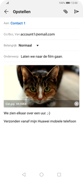 Huawei P Smart Z - E-mail - e-mail versturen - Stap 14