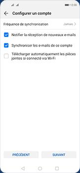 Huawei Nova 5T - E-mail - 032b. Email wizard - Yahoo - Étape 8