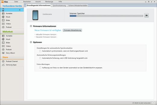 Samsung Galaxy S20 Plus 5G - Software - Eine Sicherungskopie des Geräts erstellen - Schritt 3
