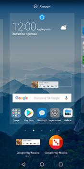 Huawei Mate 10 Pro - Operazioni iniziali - Installazione di widget e applicazioni nella schermata iniziale - Fase 7