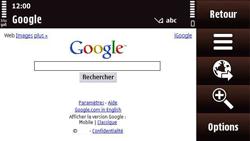 Nokia N97 Mini - Internet - Navigation sur Internet - Étape 7