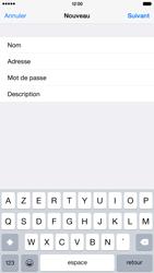 Apple iPhone 6 Plus - E-mail - Configuration manuelle - Étape 10
