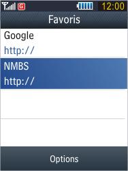 Samsung B3410 Star Qwerty - Internet - Navigation sur Internet - Étape 12