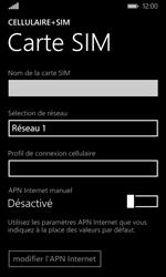Microsoft Lumia 435 - Réseau - Sélection manuelle du réseau - Étape 10