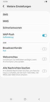 Samsung Galaxy S9 Plus - Android Pie - SMS - Manuelle Konfiguration - Schritt 7