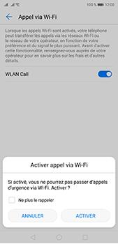 Huawei P20 Pro - WiFi - Activez WiFi Calling - Étape 8