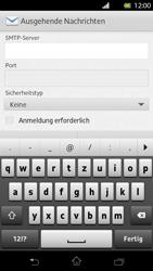Sony Xperia T - E-Mail - Konto einrichten - Schritt 11