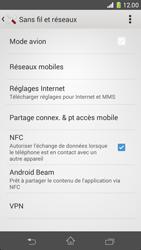 Sony Xperia Z1 Compact - Internet et roaming de données - Comment vérifier que la connexion des données est activée - Étape 5