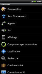 HTC X515m EVO 3D - Messagerie vocale - Configuration manuelle - Étape 4