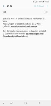 Samsung Galaxy A7 (2018) - wifi - schakel Wi-Fi Assistentie uit - stap 7