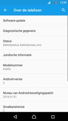 Sony E5603 Xperia M5 - Software update - update installeren zonder PC - Stap 5