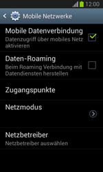 Samsung Galaxy Trend Lite - Internet und Datenroaming - Prüfen, ob Datenkonnektivität aktiviert ist - Schritt 7