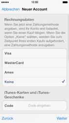 Apple iPhone 5 - Apps - Konto anlegen und einrichten - 29 / 36
