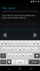 Sony Xperia Z1 Compact - Applications - Setting up the application store - Step 6