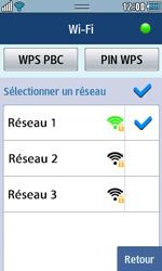 Samsung Wave 723 - Internet et connexion - Accéder au réseau Wi-Fi - Étape 9