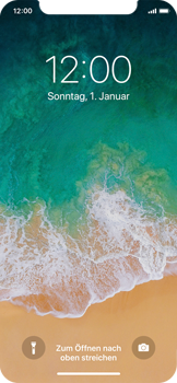 Apple iPhone X - iOS 11 - Sperrbildschirm und Benachrichtigungen - 10 / 10
