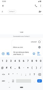 Google Pixel 3a - Contact, Appels, SMS/MMS - Envoyer un MMS - Étape 10