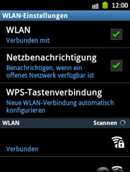 Samsung Galaxy Pocket - WiFi - WiFi-Konfiguration - Schritt 9