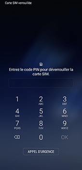 Samsung Galaxy S8 Plus - Téléphone mobile - Comment effectuer une réinitialisation logicielle - Étape 4