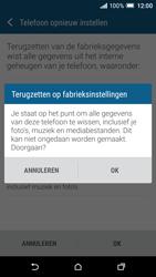 HTC One A9 - Toestel reset - terugzetten naar fabrieksinstellingen - Stap 7