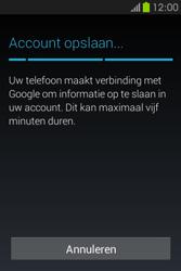 Samsung S6810P Galaxy Fame - apps - account instellen - stap 23