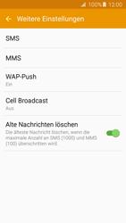 Samsung Galaxy S5 Neo - SMS - Manuelle Konfiguration - 0 / 0