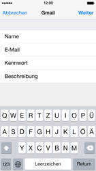 Apple iPhone 5s - E-Mail - Konto einrichten (gmail) - 1 / 1