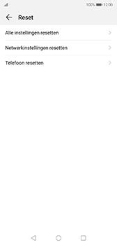 Huawei P20 - Android Pie - toestel resetten - fabrieksinstellingen terugzetten - stap 5