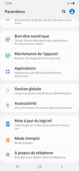 Samsung Galaxy A50 - Prise en main - Comment ajouter une langue de clavier - Étape 4