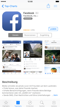 Apple iPhone 6 Plus - Apps - Konto anlegen und einrichten - 17 / 38